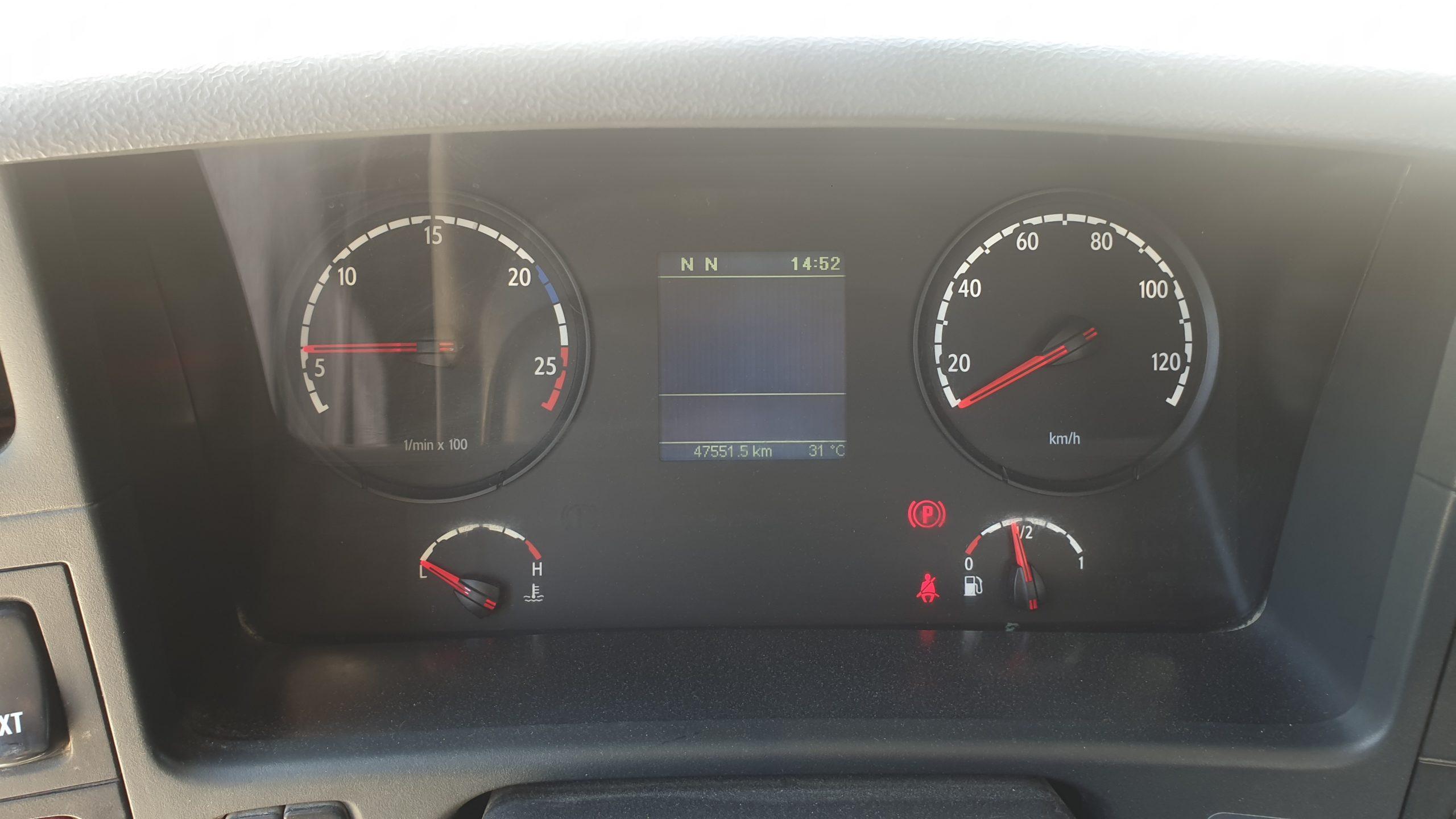 Défaut Adblue Scania P410