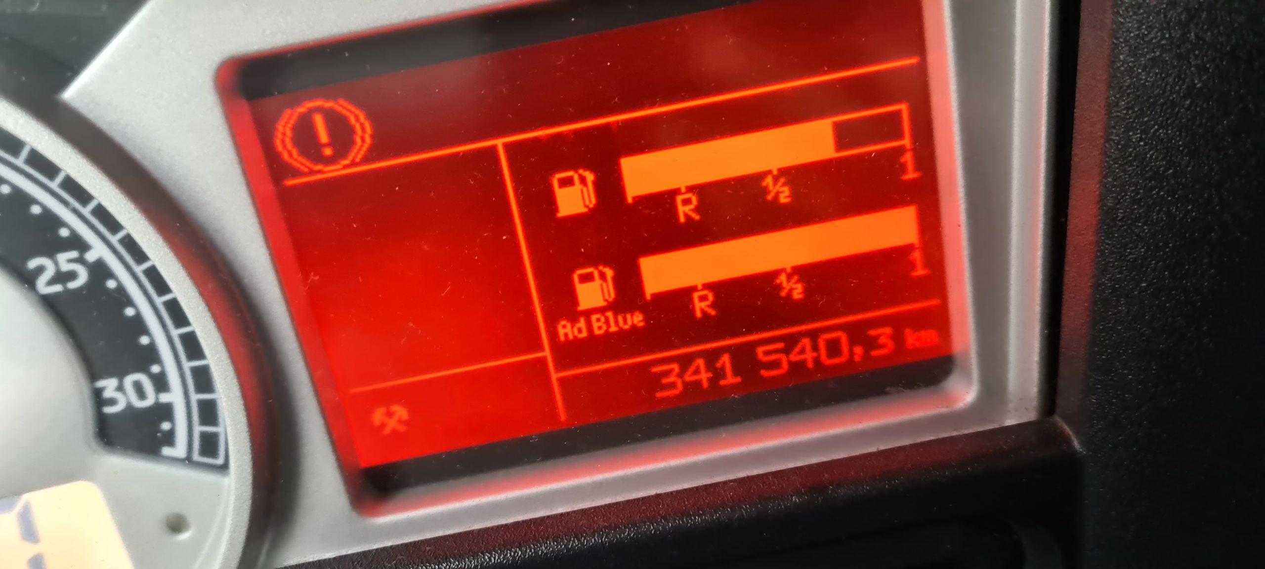 Virtualiser le système lors d'une panne adblue Renault Magnum