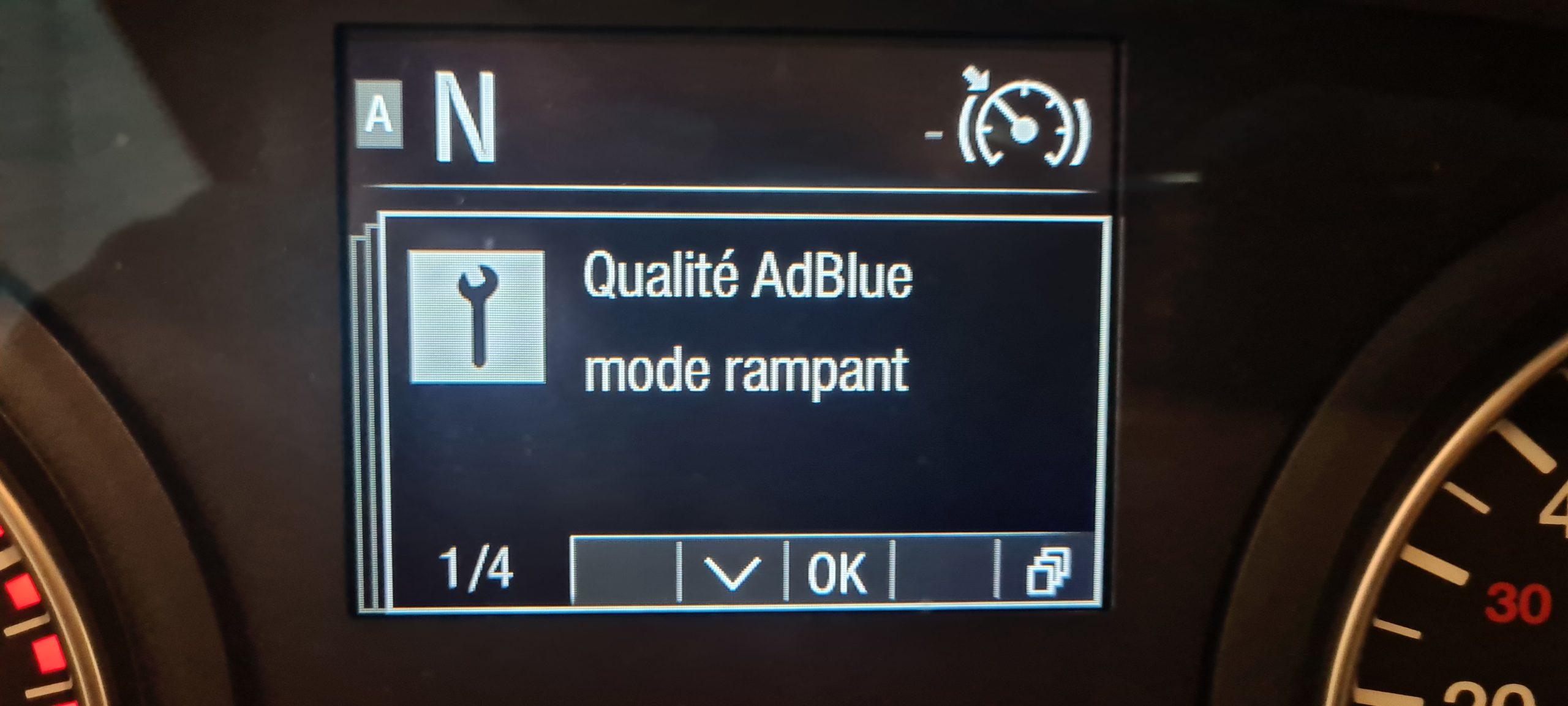Mode rampant Man Euro 6 EDC 8131-02 8132-02 4535-01 Adblue SCR