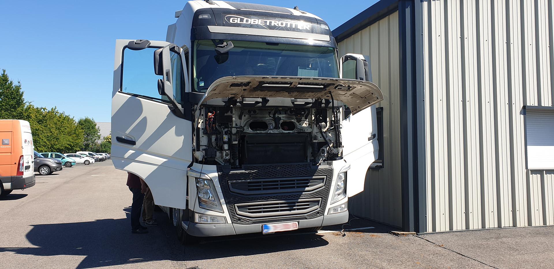 Suppression Adblue sur Volvo Euro 6