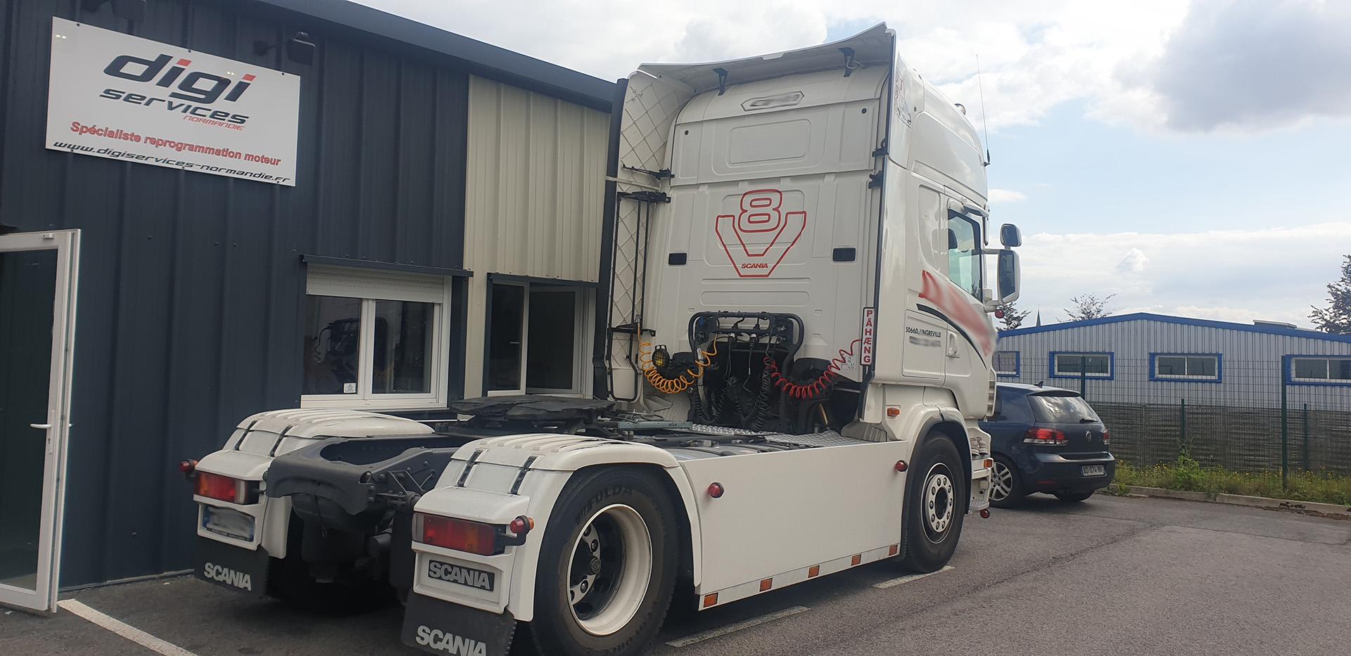 Scania V8 Power 500 à 580cv