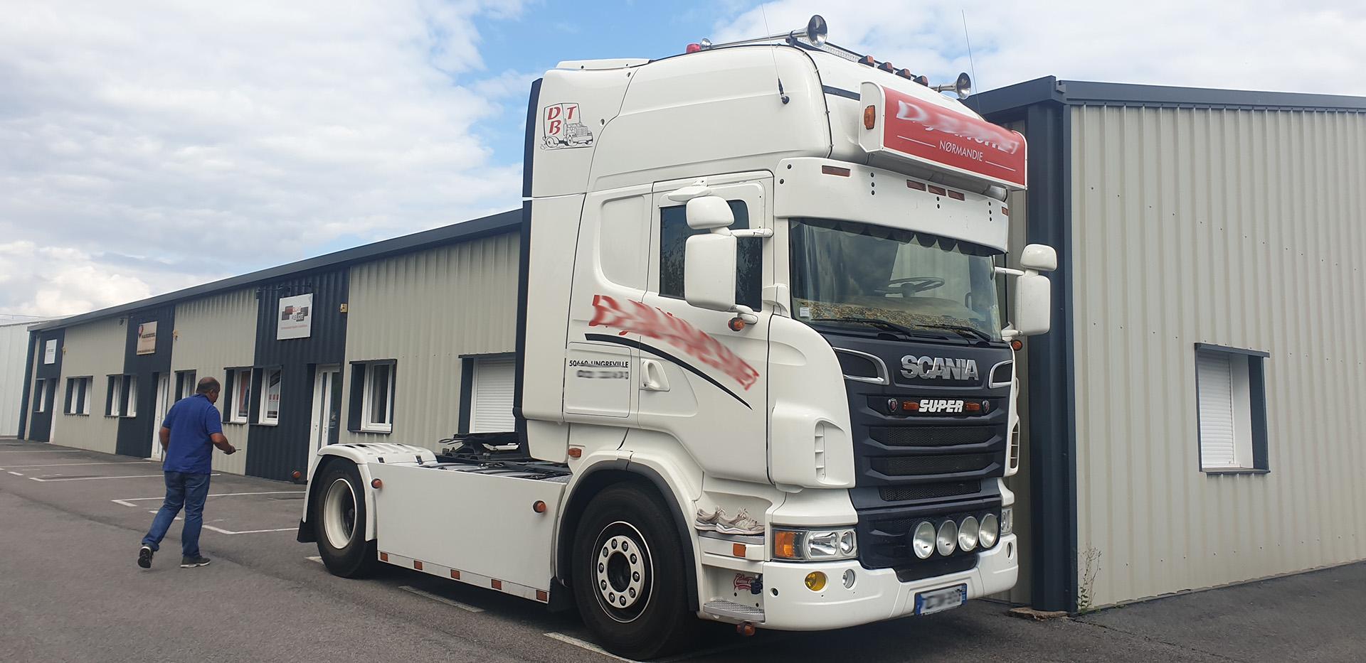 Augmentation puissance Scania R500 V8