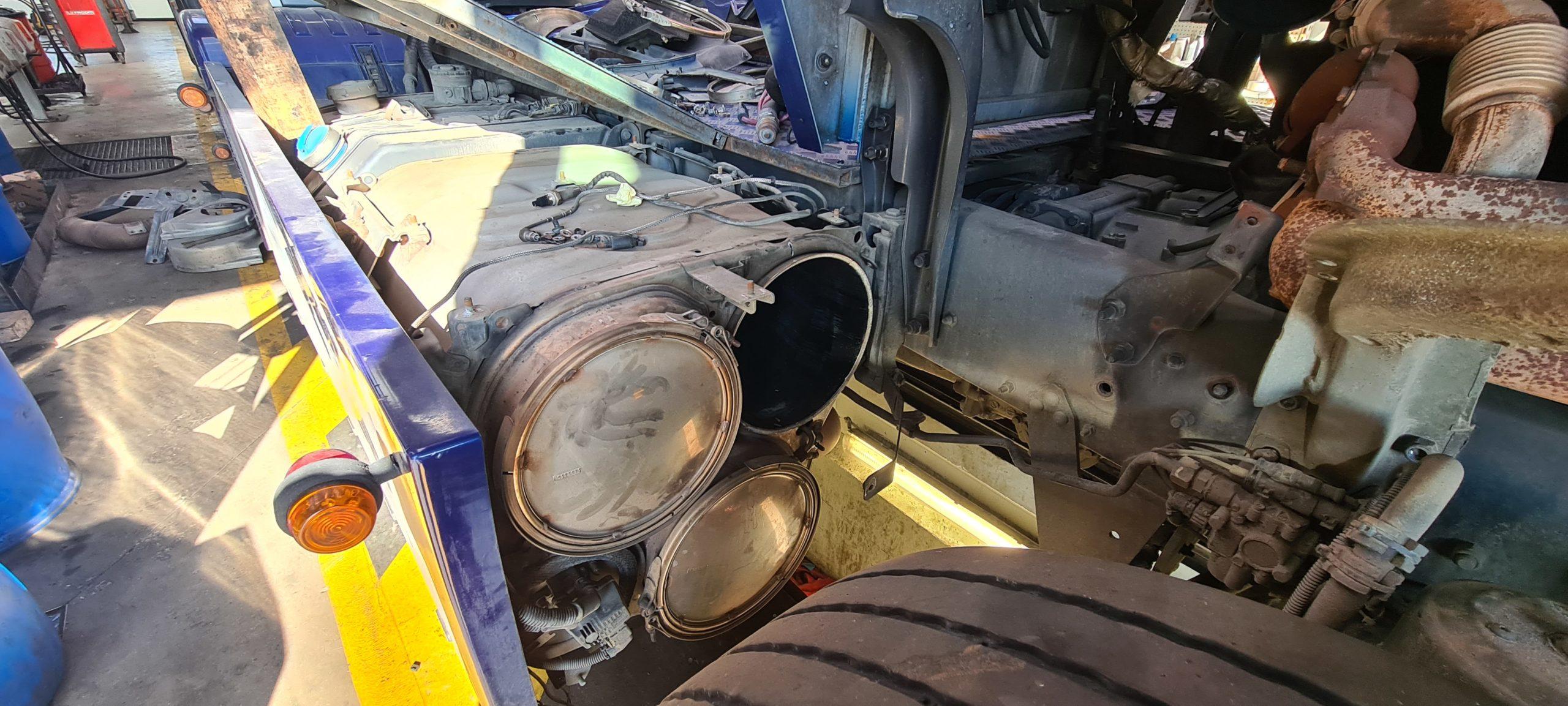 DPF FAP Off Scania Euro 6