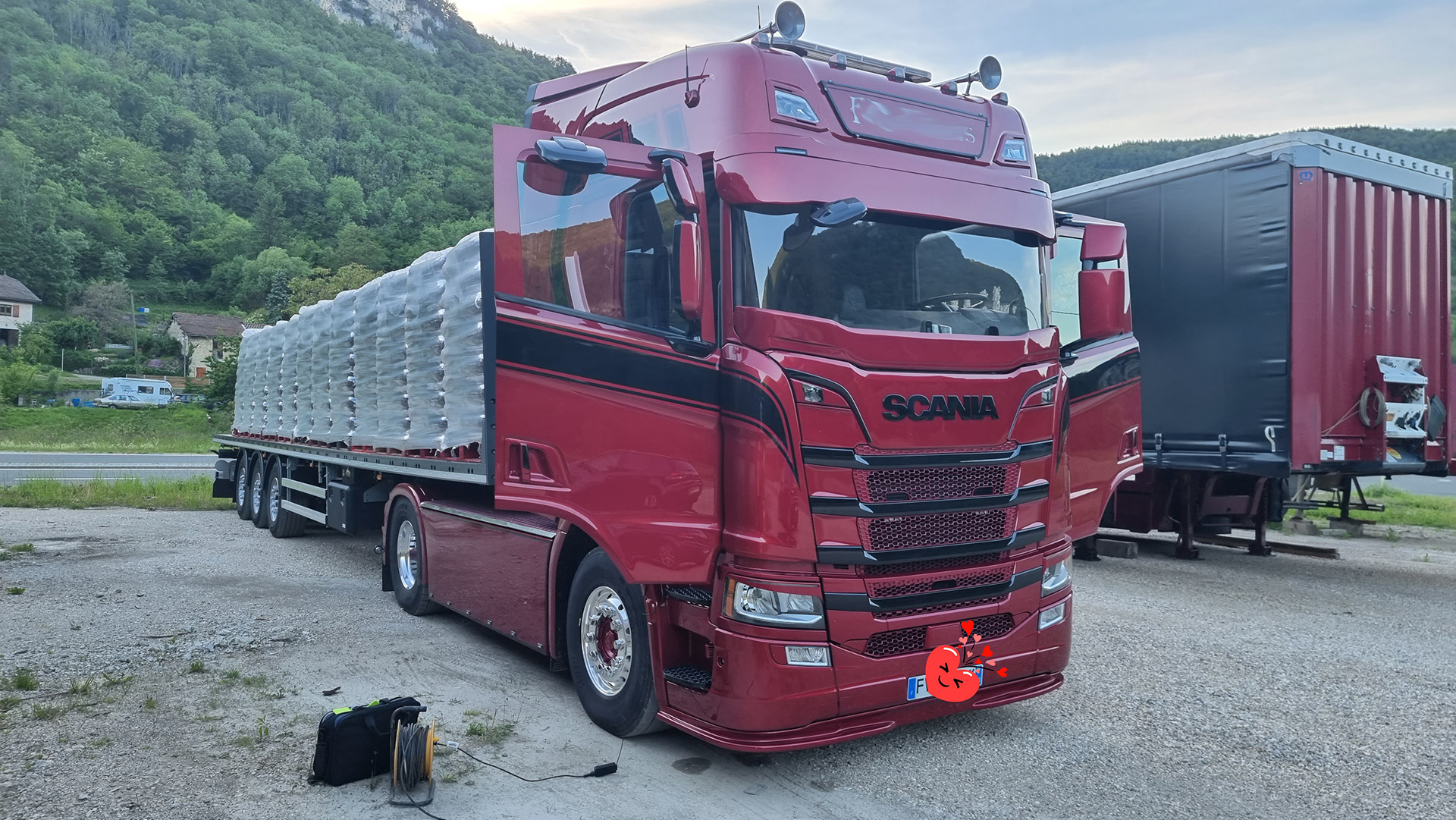 AdBlue FAP Scania R650 S650 V8 Euro 6 Echappement libre 2021