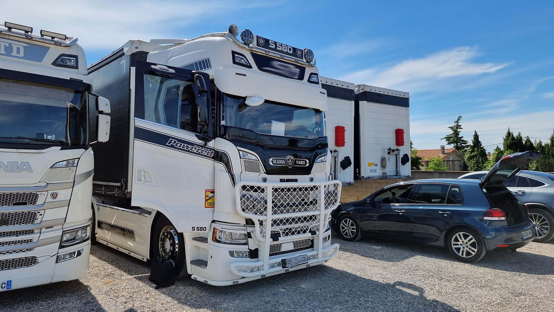 Stage 2 Scania S580