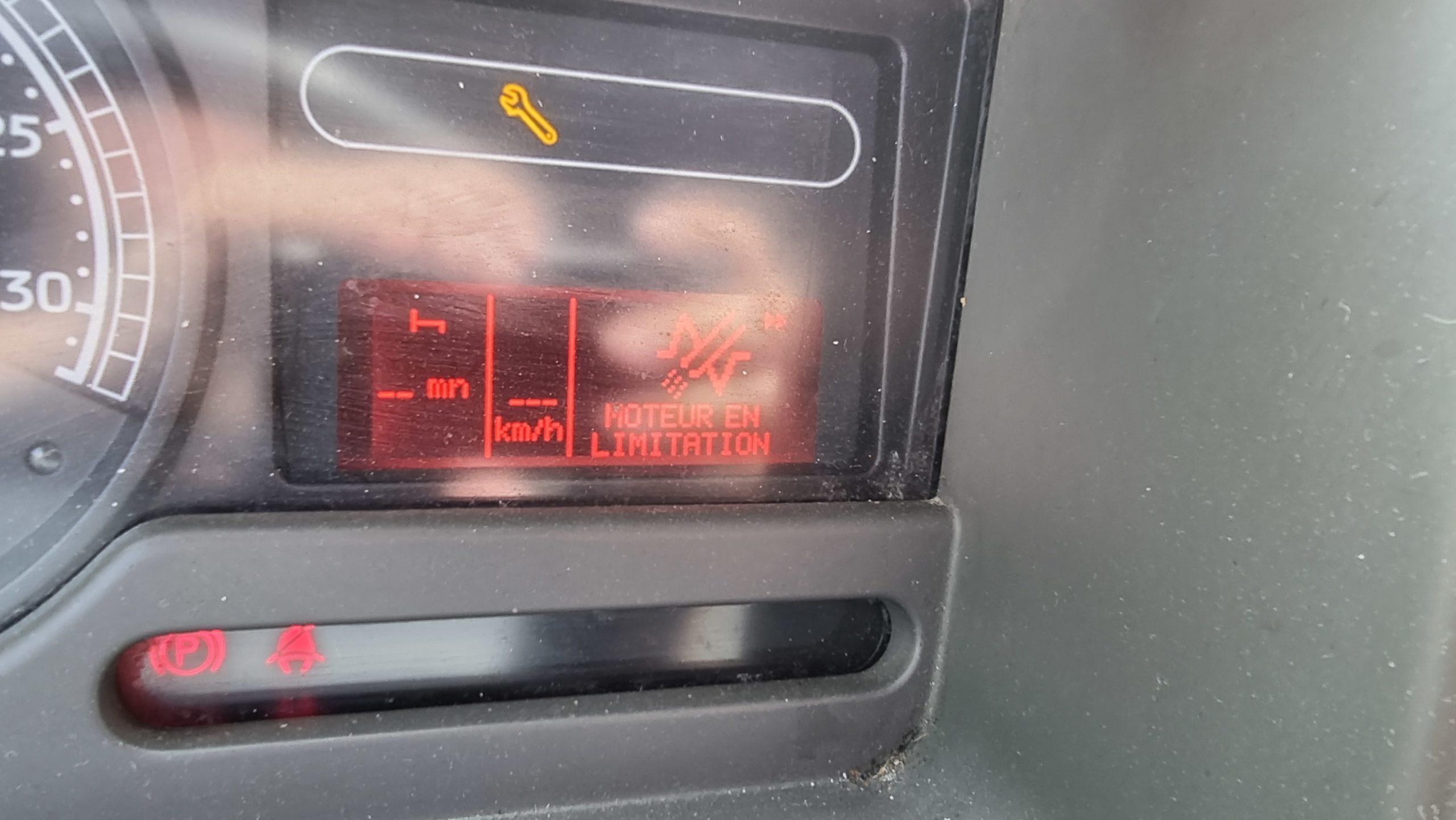 Adblue Renault Midlum et moteur en limitation