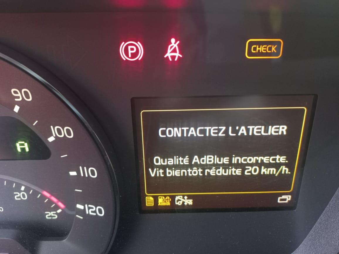 Volvo FH16 750 DTC Adblue SCR