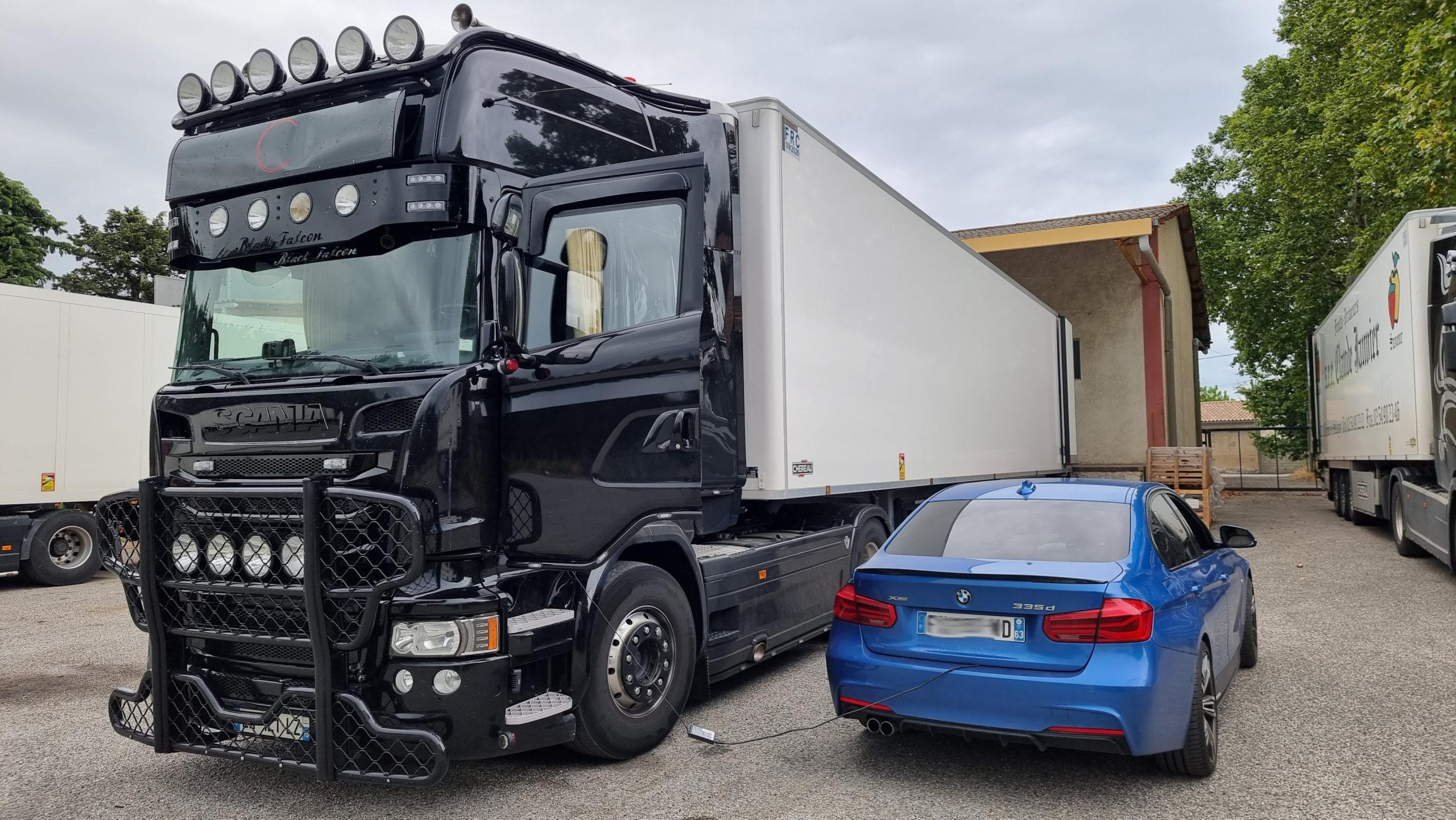 Suppression AdBlue Scania R580 Euro 6 et Echappement libre