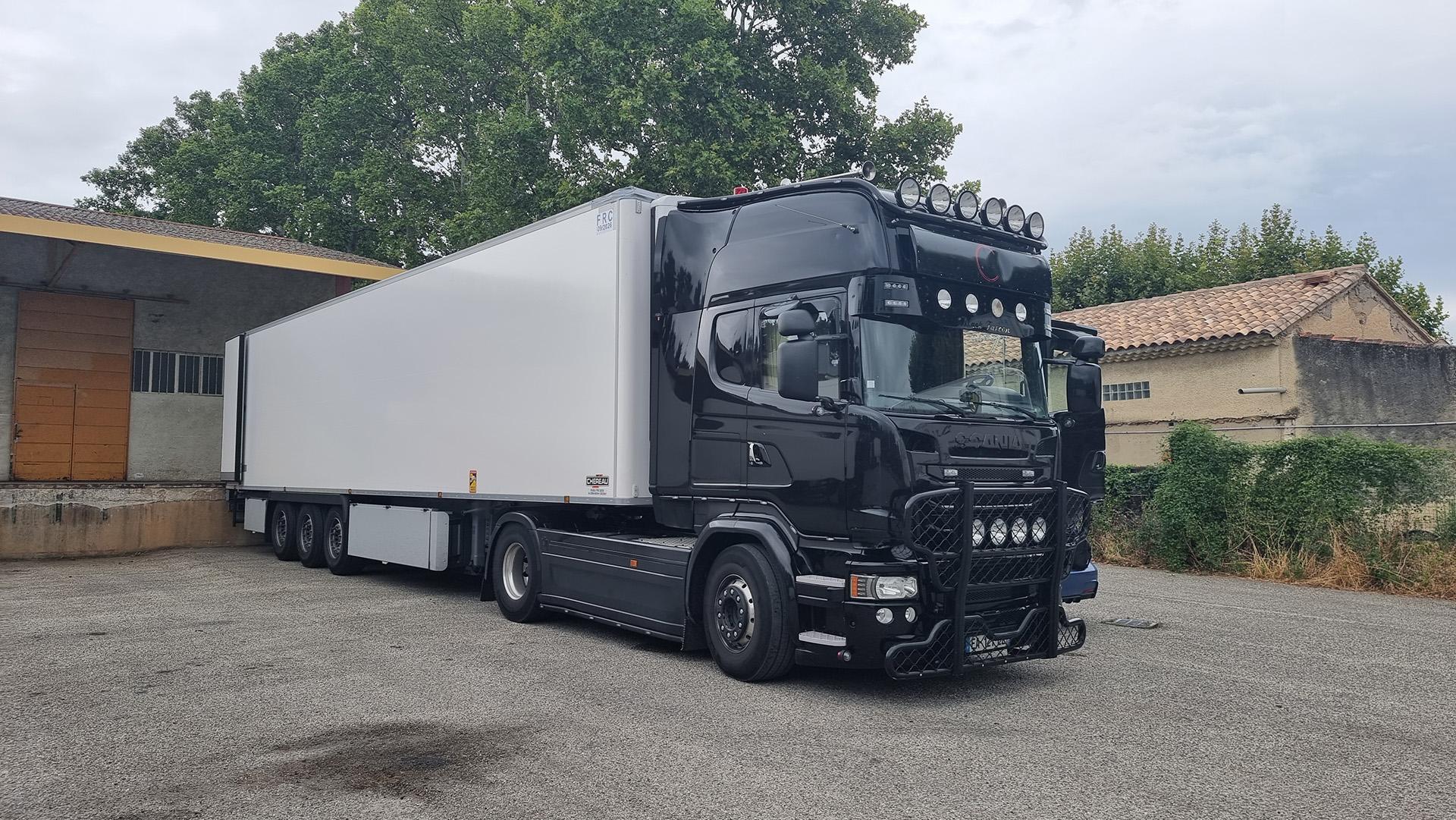 Reprogrammation Scania R580 V8